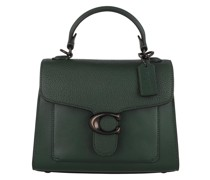 Satchel Bag Mixed Leather Tabby Top Handle 20 V5/Forest