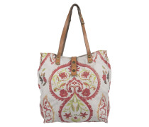 Cuore Shopping Bag Grigio Perla Umhängetasche