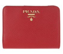 Portemonnaie Small Wallet Saffiano Leather Fuoco