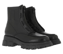 Boots Mustang Leather Black
