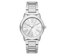 Armbanduhr - Runway Stainless Steel Silver-Tone Watch