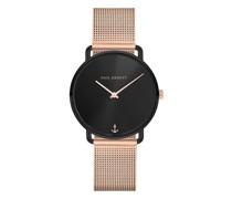 Uhr Watch Miss Ocean Line Sunray Mesh Strap
