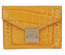 Portemonnaie Croco Mini Wallet Golden Mango
