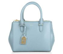 Tasche - Mini Double Zipper Satchel Cameo Blue - in blau