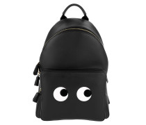 Eyes Mini Backpack Circus Black Rucksack