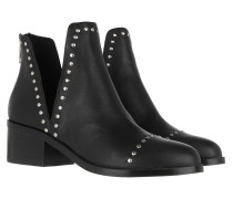 Boots Conspire Ankleboot Black Leather