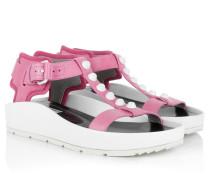Sandalen - Sandale Classic Strap T Bar Pink