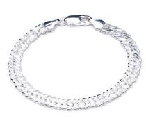 Armband Statement Chevron Chain Bracelet Silver