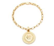 Armband Statement Leo Zodiac Art Coin Bracelet S/M