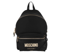 Rucksack Logo Backpack Fantasia Nero