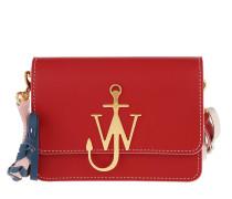 Umhängetasche Anchor Braided Logo Bag Scarlet