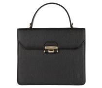 Chiara S Top Handle Bag Onyx
