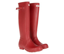 Boots Women's Original Matte Tall Rubber Military Red