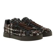 Sneakers Portofino Tweed Brown/Black