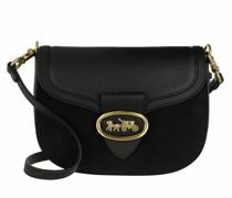 Crossbody Bags Mixed Leather Kat Saddle Bag