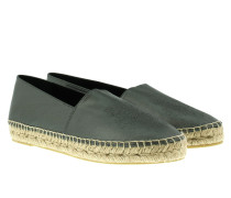 Paris Tiger Espadrilles Fir-Tree Green