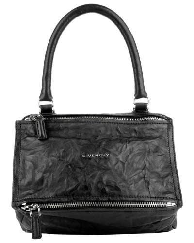 givenchy damen givenchy tasche pandora small bag black in schwarz henkeltasche f r damen. Black Bedroom Furniture Sets. Home Design Ideas