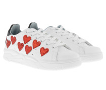 Sneakers Hearts White Sneakerss