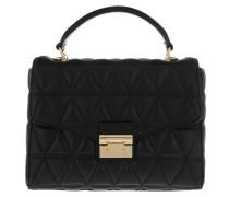 Medium TH Satchel Bag Black