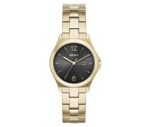 Parsons Watch Gold/Black Armbanduhr gold