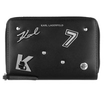 Portemonnaie Karl Seven Pins Zip