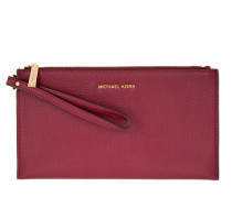 Mercer LG Zip Clutch Cherry