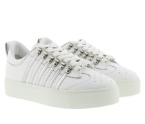 Sneakers Side Stripe White/Silver