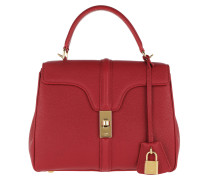 Satchel Bag Small 16 Leather Red