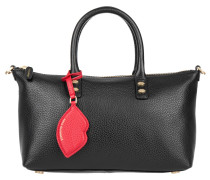 Tasche - Frances Small Grainy Leather Black