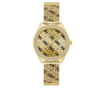 Uhr Women Quartz Watch Claudia Gold