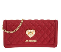 Kleinleder - Nappa Pu Trapunata Flap Wallet Rosso