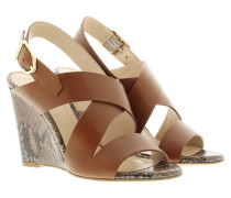 Sandalen - Vertic Wedge Sandale Light/Pastel Brown
