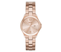 Parsons Watch Rosegold Armbanduhr gold