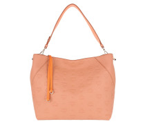 Tote Klara Monogram Medium Hobo Bag Sandstone