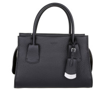 Tasche - Note Leather Tote Small Black