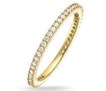 Ring Eternityring Pavé Gold