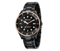 Uhren 230 43Mm 3H Black Dial Bracelet