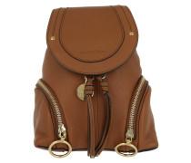 Small Olga Backpack Caramel Rucksack