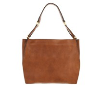 Hobo Bag Dafne Leather Miele