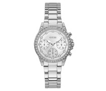 Uhr Women Quartz Watch Gemini Silver