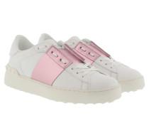 Sneakers Bicolor Rockstud Sneaker White/Water Rose