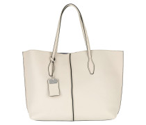 Tag Detail Tote White