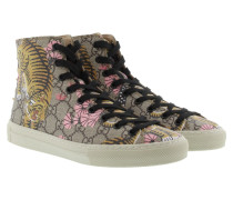 GG Supreme St.Bengal Canvas High Top Sneakers Sneakerss
