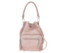 Tasche - Shibata Slouchy Leather Bag Macaque Pink