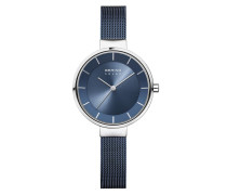 Uhr Watch Solar Women Blau