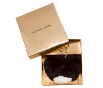 Kleinleder - Teddy Bear Pom Pom Fur Black