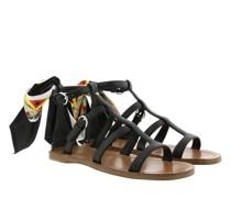 Sandalen & Sandaletten Sandals Saffiano Leather