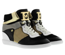 Sneakers - Nikko High Top Sneakers Black/Gold