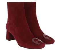 Boots Grazia Heel Bootie Burgundy