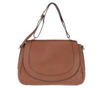 Dinard Calacm Shoulder Bag Toffee Satchel